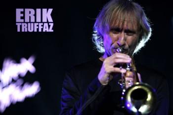 434. Постер: Erik Truffaz, джазовый музыкант, вливающий в джаз элементы хип-хопа, рок-н-ролла и танцевальной музыки