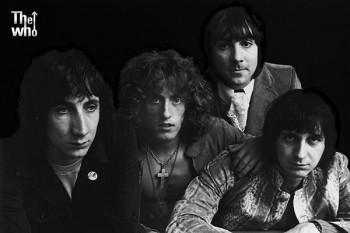 438. Постер: Тhe Who - британская рок-группа, одна из самых влиятельных групп 60-х, 70-х годов