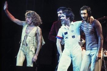 439. Постер: Тhe Who - одна из величайших рок-групп
