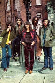 440-1. Постер: Steppenwolf - весьма успешная канадско-американская рок группа конца 60-х, начала 70-х годов