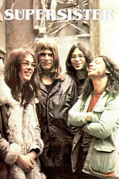 440. Постер: Supersister - популярная в начале 70-х голландская группа прогрессивного рока
