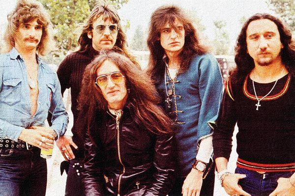 441. Постер: Uriah Heep - британская рок-группа, образовавшаяся в 1969 году в Лондоне