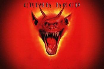 443. Постер к альбому Uriah Heep