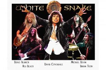 444. Постер: Whitesnake - британо-американская рок-группа, играющая Hard rock с блюзовыми элементам