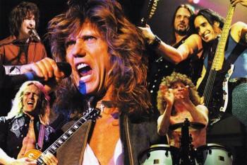 445. Постер: Whitesnake, David Coverdale - бессменный лидер группы