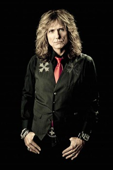 447-2. Постер: David Coverdale (Whitesnake) в 2011 году