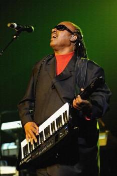 449. Постер: Stevie Wonder - американский слепой соул-певец, композитор и пианист
