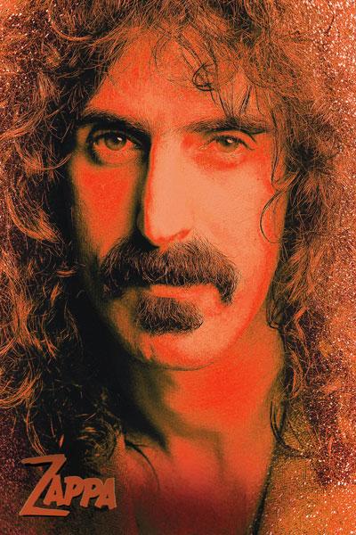 451. Постер: Frank Zappa - культовый американский композитор, певец, мультиинструменталист, продюсер, автор песен и музыкант-экспериментатор