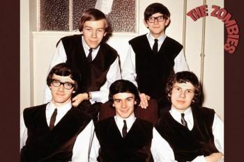 453. Постер: Тhe Zombies - британская рок-группа, занимающая лидирующие позиции в европейском и американском чартах во второй половине 60-х