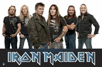 457. Постер: Iron Maiden - яркий представитель британского хэви-метала