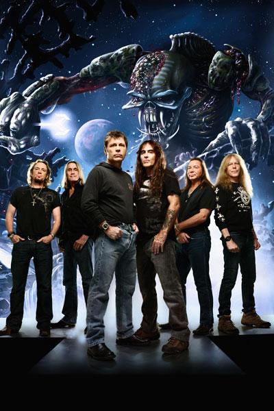 458. Постер: Британская рок-группа Iron Maiden, в 1980-х гг. оказавшая значительное влияние на развитие метала