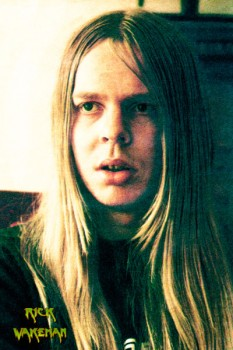 460. Постер: Rick Wakeman, клавишник и композитор, участник прогрессивной британской группы Yes