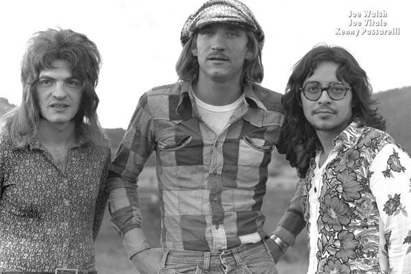 461. Постер: Joe Walsh американский музыкант, композитор, участник James Gang и Eagles, с коллегами по цеху Joe Vitale и Kenny Passarelli в 1972