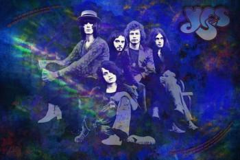462. Постер: Yes - одна из наиболее успешных и влиятельных прогрессивных рок-групп из Британии.