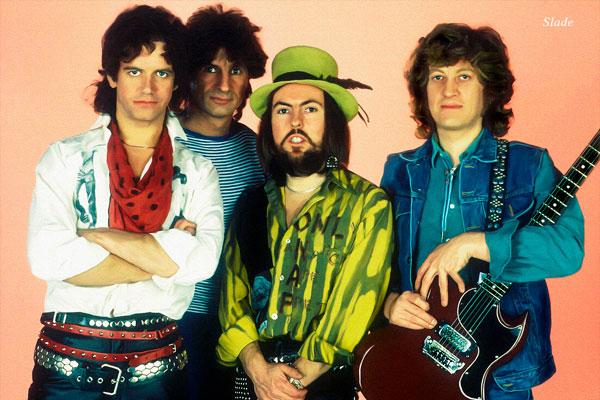 408-3. Музыкальный постер: группа Slade в 1975 году