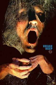 """443-4. Постер: Uriah Heep, обложка дебютного альбома """"Very 'eavy… Very 'umble"""""""