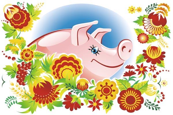 21. Плакат для офиса: Порядочная свинья