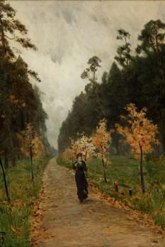 008. Пейзаж: Осенний-день-Сокольники