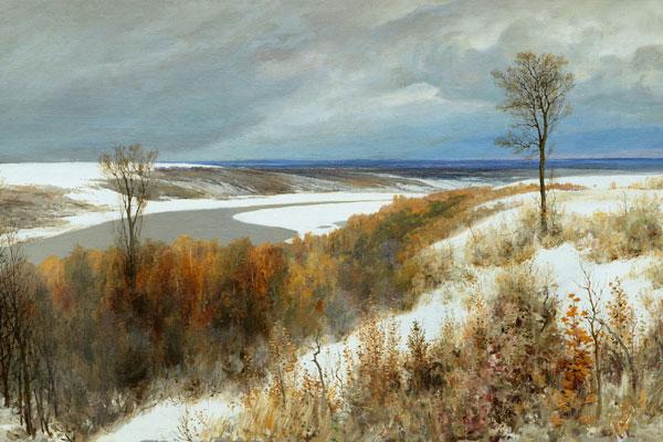019. Пейзаж: Ранний снег
