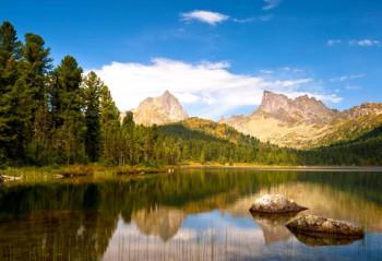 042. Пейзаж: Лето в горах