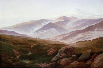 092. Пейзаж: Заснеженные горы