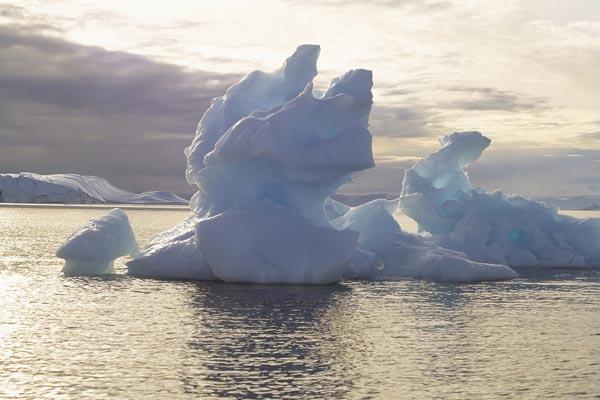 097. Пейзаж: Полярные льды