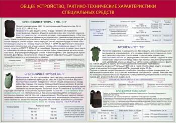 004. Общее устройство, тактико-технические характеристики специальных средств