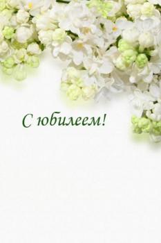 004. Поздравление: плакат на Юбилей, на День Рождения, с Праздником!