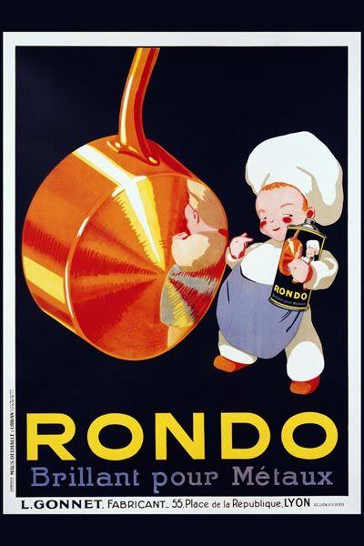 018. Ретро плакат западных стран: Rondo Poster