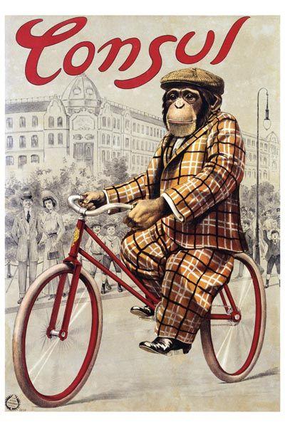 039. Ретро плакат западных стран: Consul. Poster