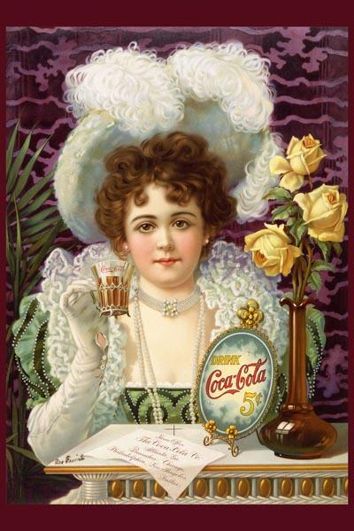 065. Ретро плакат западных стран: Drink Coca-Cola