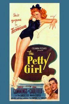 054. Ретро плакат западных стран: Columbia Pictures presents: The Petty Girl