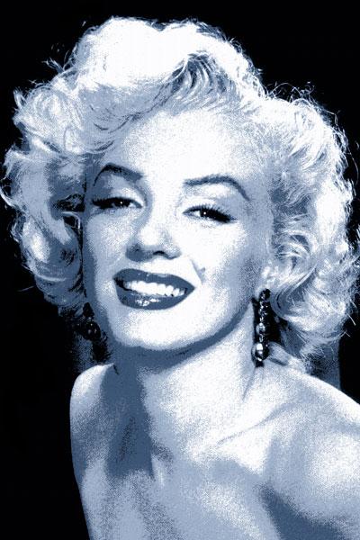 104. Постер: Marilyn Monroe, портрет