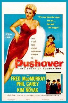 093. Ретро плакат западных стран: Pushover. The story of tenptation