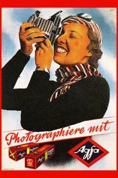 117. Ретро плакат западных стран: Photographiere mit