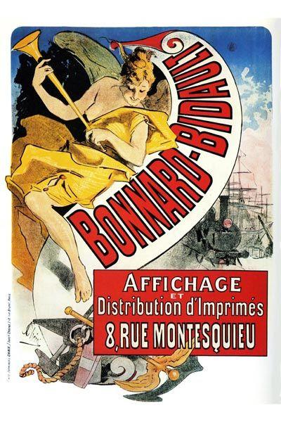 119. Ретро плакат западных стран: Bonnard-Bidault