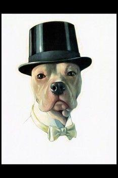 103. Ретро плакат западных стран: The dog