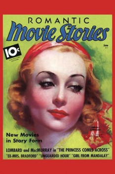 134. Иностранный плакат: Romantic Movie Stories