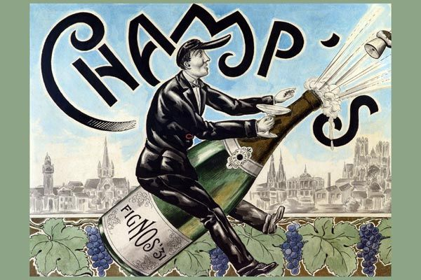 149. Ретро плакат западных стран: Fignos Champ's Poster