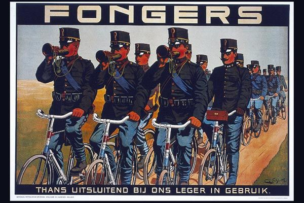 154. Ретро плакат западных стран: Fongers