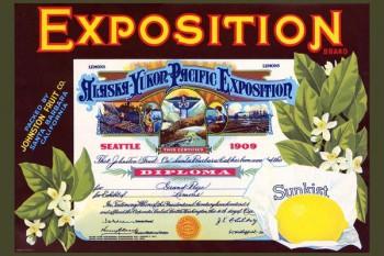 155. Иностранный плакат: Exposition brand