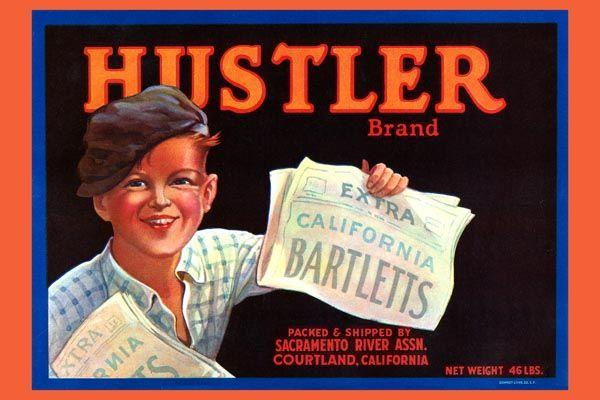 156. Иностранный плакат: Xustler brand