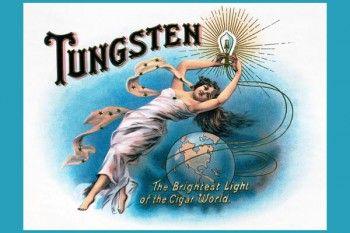 159. Иностранный плакат: Tungsten