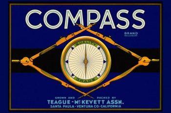 161. Иностранный плакат: Compass brand