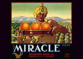 177. Иностранный плакат: Miracle brand