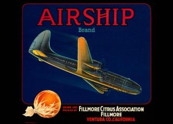 191. Иностранный плакат: Airship brand