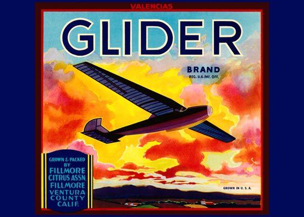 193. Иностранный плакат: Glider brand