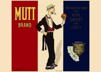 199. Иностранный плакат: Mutt brand