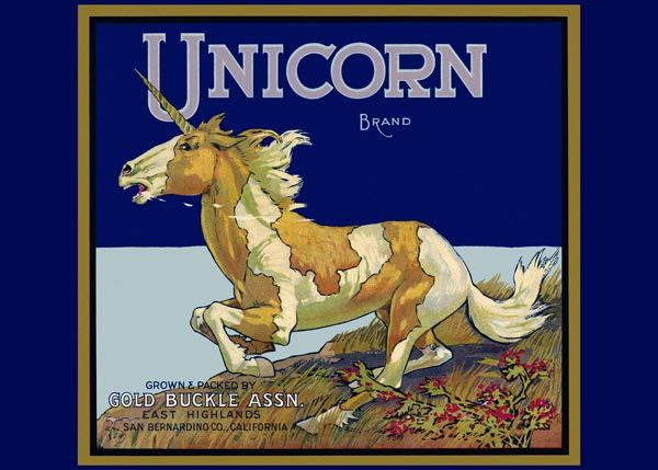 200. Иностранный плакат: Unicorn brand