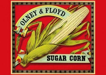 205. Иностранный плакат: Olney @ Floyd. Sugar corn
